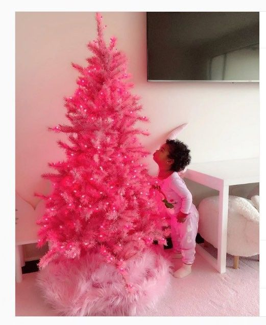 Little True approves of pink!