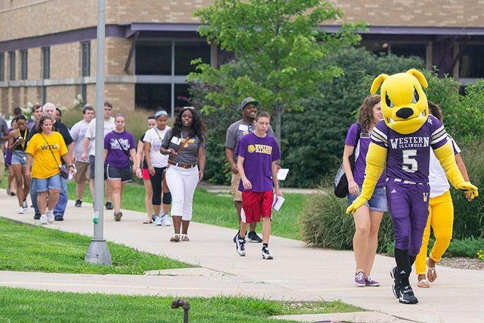 Western Illinois University in Macomb, IL
