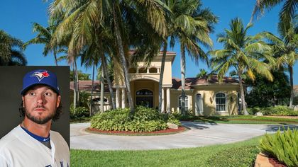 Blue Jays Catcher Jarrod Saltalamacchia Lists $4.5M Florida Mansion