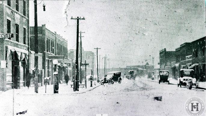 Greenwood, winter 1918