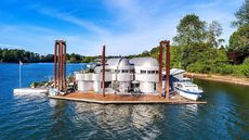 Aqua Star! Portland's Iconic Floating Home Makes a Splash
