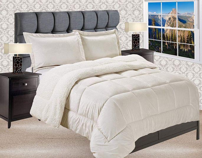 Elegant Comfort's three-piece comforter set