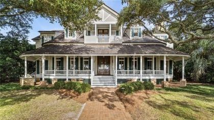 $7.45M Historic Waterfront Estate Is Alabama's Most Expensive Listing