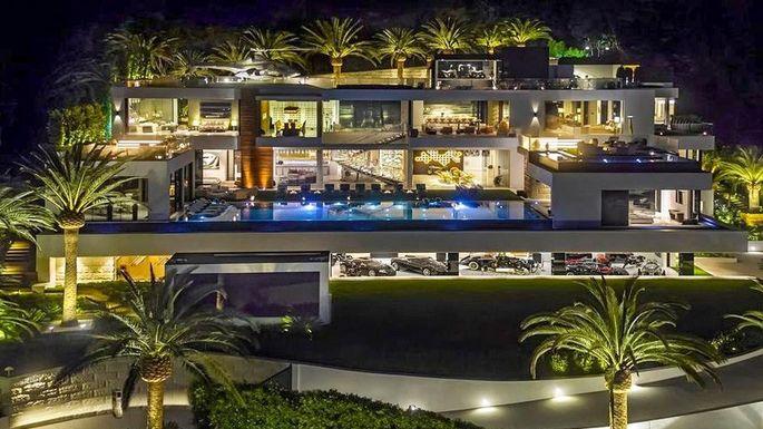 bizarste villa in LA
