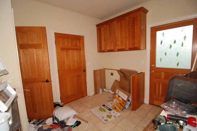 Fixer laundry room as is
