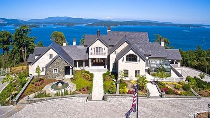 Custom-Built $19.9M Estate on San Juan Island Is Washington's Most Expensive Home