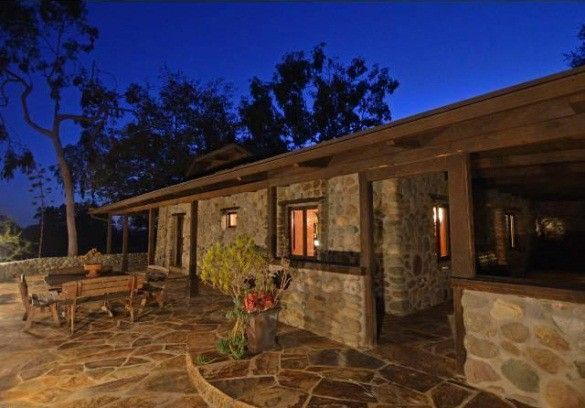 Incroyable Fieldstone Ranch House Patio San Juan Capistrano CA
