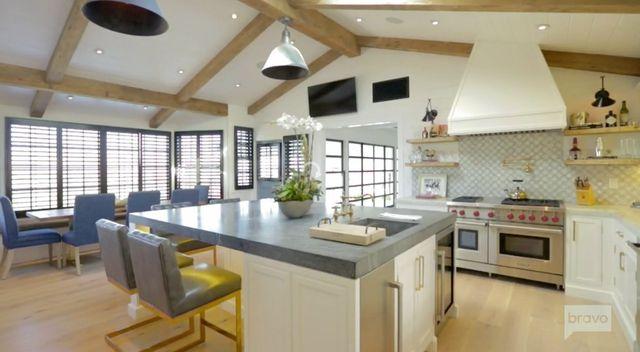 Jeff Lewis loves his own farmhouse kitchen renovation