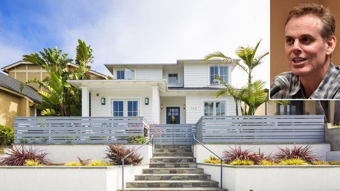 Colin Cowherd house in Manhattan Beach, California