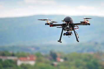 Enlisting a Drone to Sell Your House Just Won't Fly