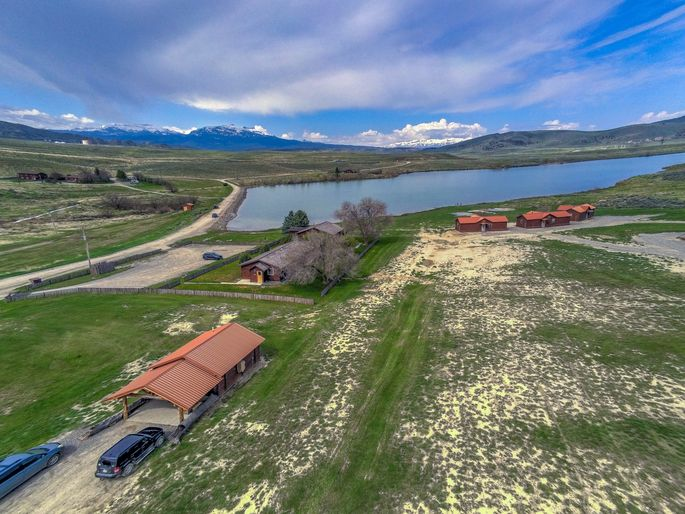 Monster Lake Ranch features lodging units, meeting space, and more.