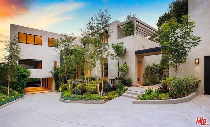 Kylie Jenner will share this Beverly Hills estate with her boyfriend, rapper Travis Scott.