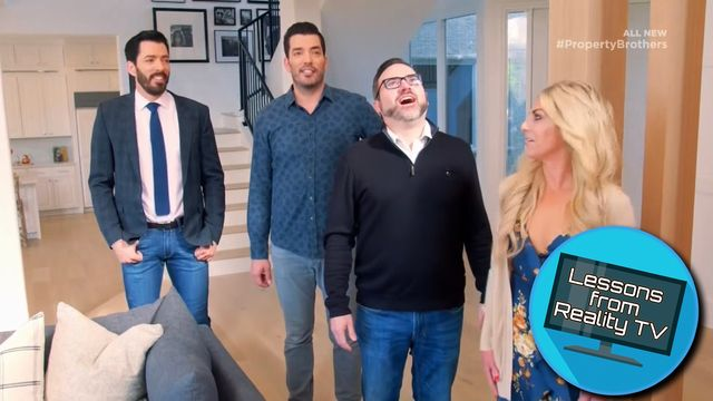 The Property Brothers Install the Most Adorable Door You'll Ever See