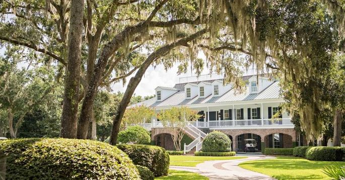 Pro golfer Davis Love III grew up in the South and now calls St. Simons Island home. His property is located is on a private tract of land with its own horse barn and stables.