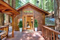A Tiny House Among Giant Redwoods Near Bohemian Grove in Sonoma County