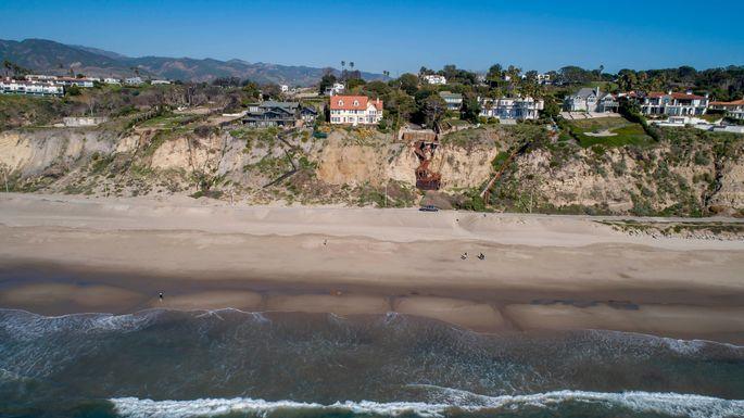 Prime beach real estate