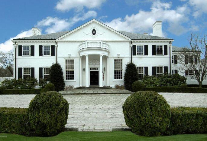 The Greenwich, CT, mansion that Donald and Ivana Trump once owned is on the market for $45 million.