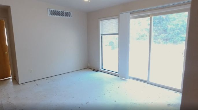 This was just an empty room.