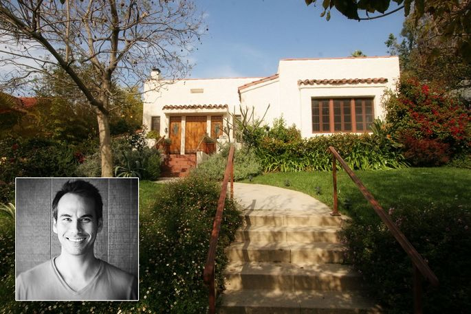 Daniel Shiplacoff and his former home in Los Angeles
