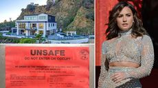 Damage Control: Demi Lovato's L.A. House Hit by a Landslide