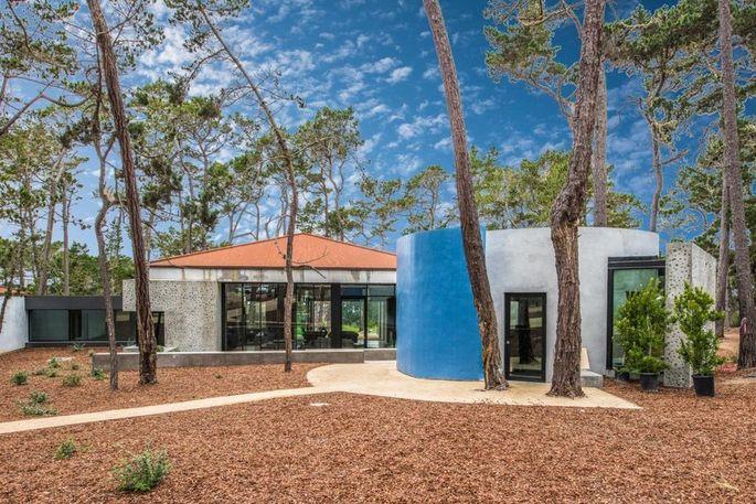 New modern home in Pebble Beach