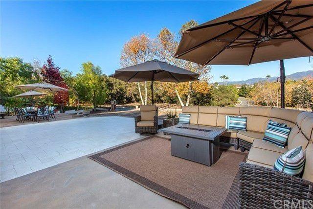 Newly renovated backyard and patio