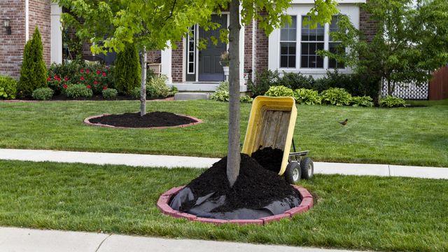 Mulch Dumping cart
