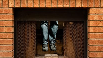 Man Locked Out of His Home Gets Stuck in the Chimney