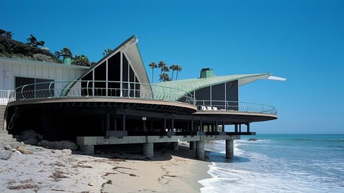 Malibu Beach House Used In The Film