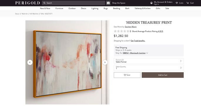 Purchase this painting from the listing photo for $1,282.50.
