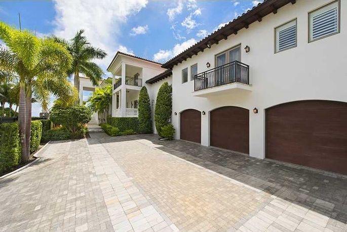 James' former Miami mansion