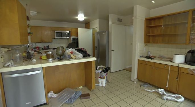 This kitchen layout is fine as is, but Somer and Kenny want to change it.