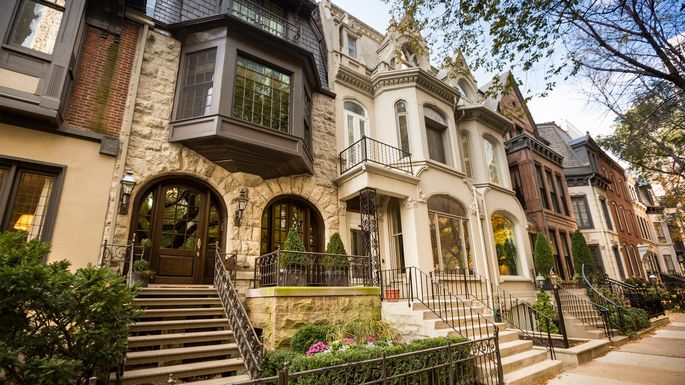 Historic homes in Chicago