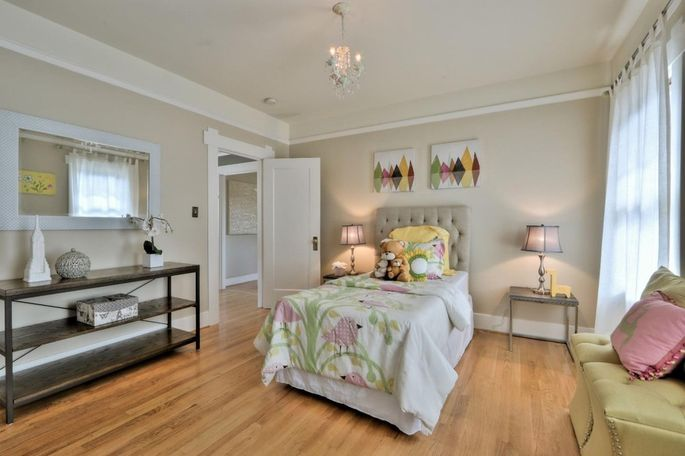 This is a more mature version of the bedroom.