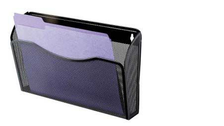 Rolodex Single Pocket Wire Mesh Wall File