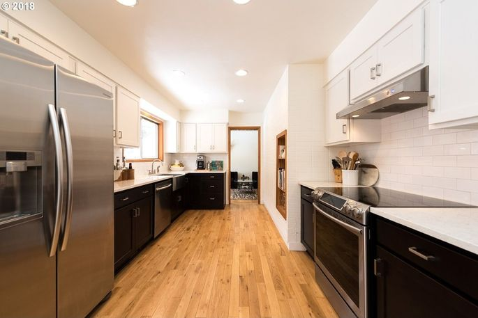 Simple updates make the kitchen look fresh and modern.