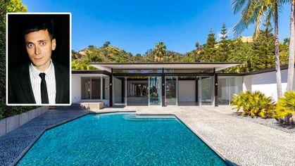 Fashion Designer Hedi Slimane Trims Price on Chic Beverly Hills Home