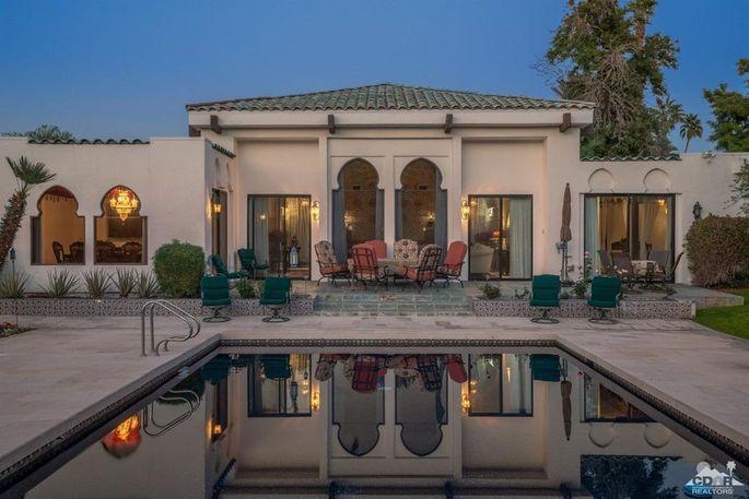 Mini Moroccan palace in Rancho Mirage, CA
