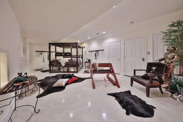 Full basement view