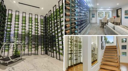 See the Light: Glass Wine Cellars Are Having a Moment