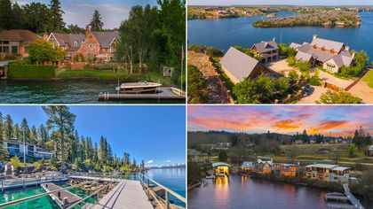 Summer's Not Over Yet!  Here Are 9 Amazing Lakeside Retreats Worth Diving Into