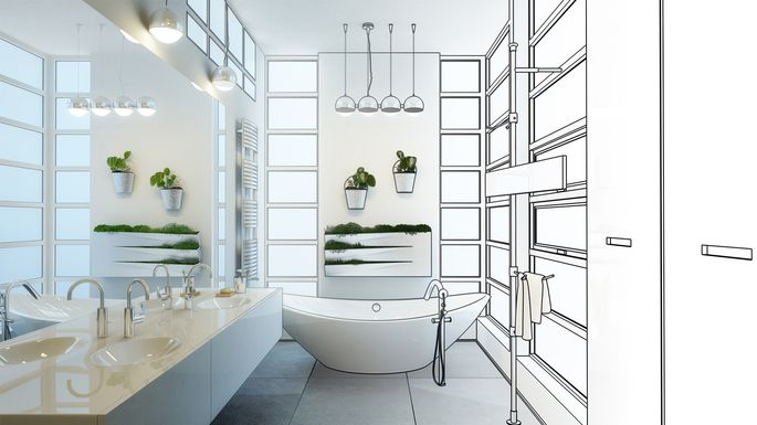 5 Beautiful Bathroom Design Layouts Which One Is Right For You Realtor Com