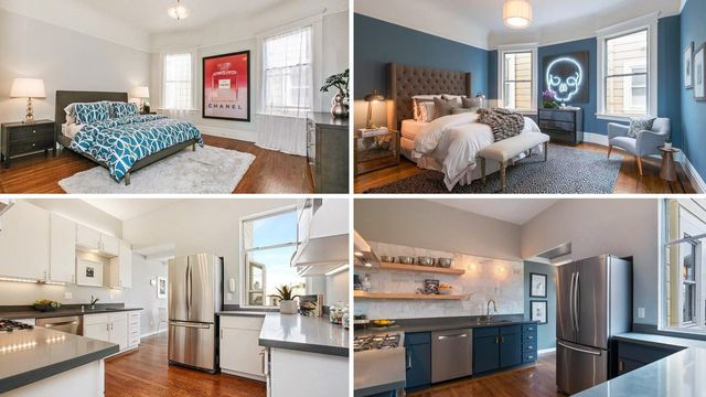 Lessons From Listings Photos: Cosmetic Changes Transform This Edgy S.F. Victorian