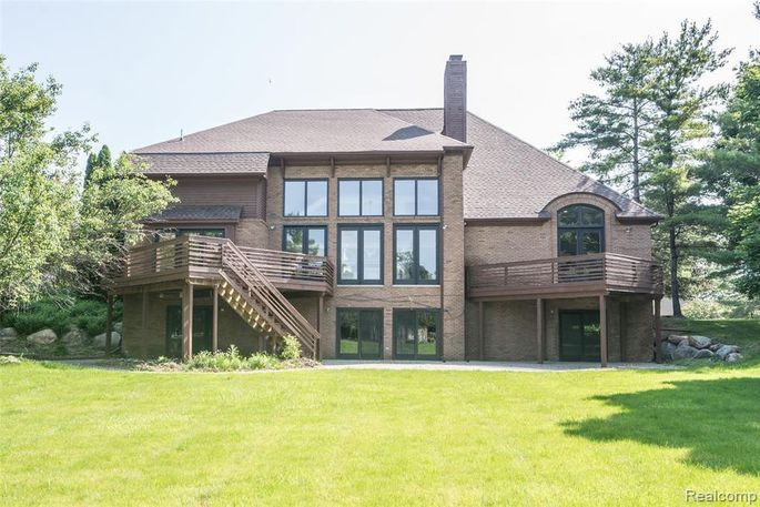 Aretha Franklin's Michigan home