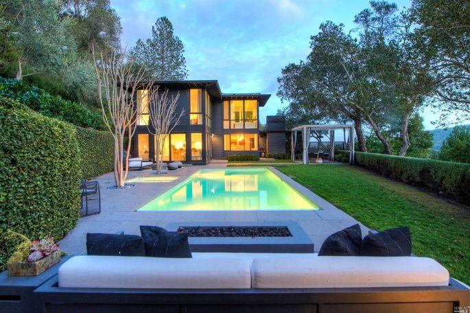 Gavin Newsom's Kentfield, CA, home