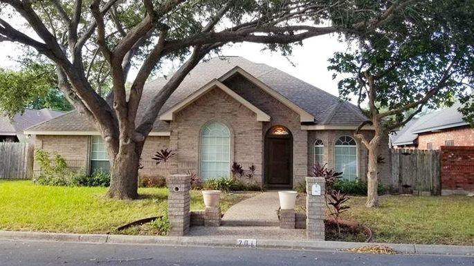 Three-bedroom home in McAllen, TX