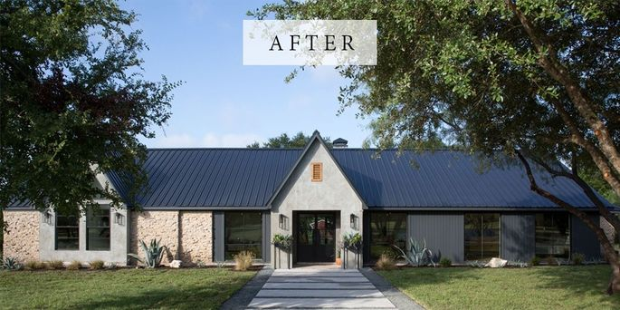 Major gaines another home featured on 39 fixer upper 39 up for Industrial modern homes for sale