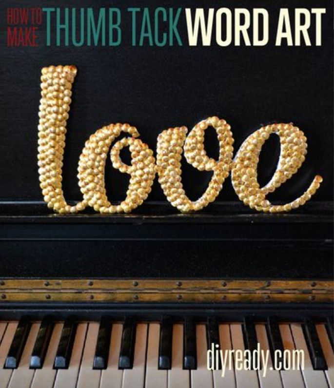 "Nothing ""tacky"" about thumbtack art!"