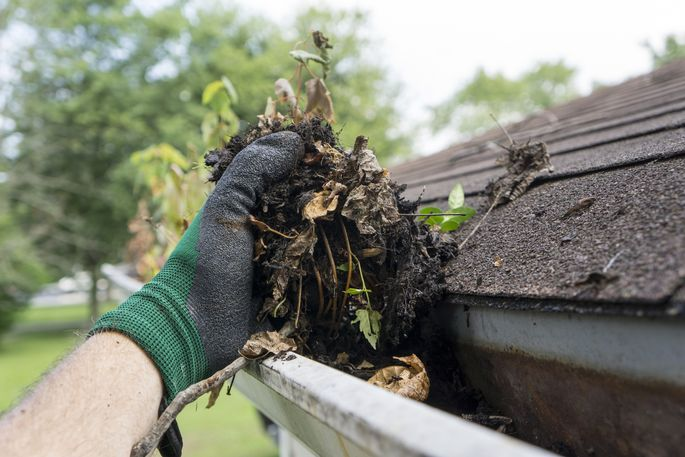 Get the gunk out of your gutters this summer.