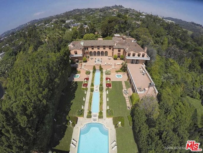 This Beverly Hills, CA, estate is the most expensive new listing this week.